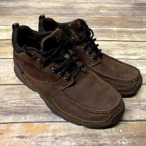 Timberland Brown Leather Waterproof Hiking Boots